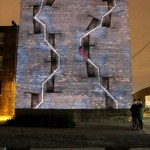 The Climb (71 Garfield). 2012. Video projection.