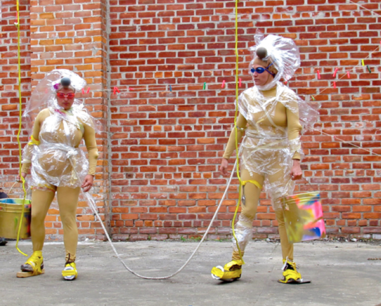 Performance at Ocelot Print Shop. 2013. Photography by Sarah Rose Sharp.