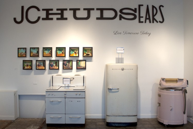 Installation view: J. C. Hudsears. 2012.