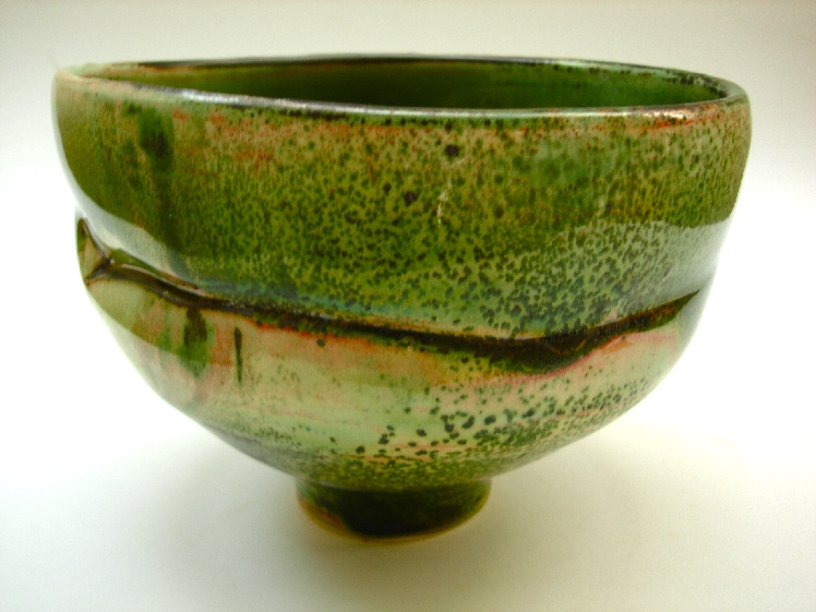Green Bowl. 1996. Porcelain, 5 x 7 in. diameter.