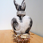 Milagro, 2011, Naked raku, found object Image by Larry McMann, courtesy of the artist
