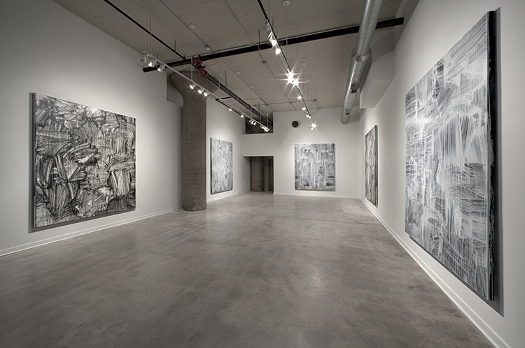 Nothingness, 2012, Installation view Simone DeSousa Gallery (then Re:View) Image courtesy of the artist