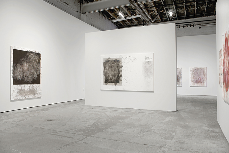 Greg Fadell solo show, MOCAD, installation view, 2015 Image courtesy of the artist