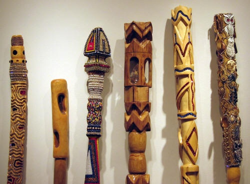 Staffs (detail). Courtesy of the artist.