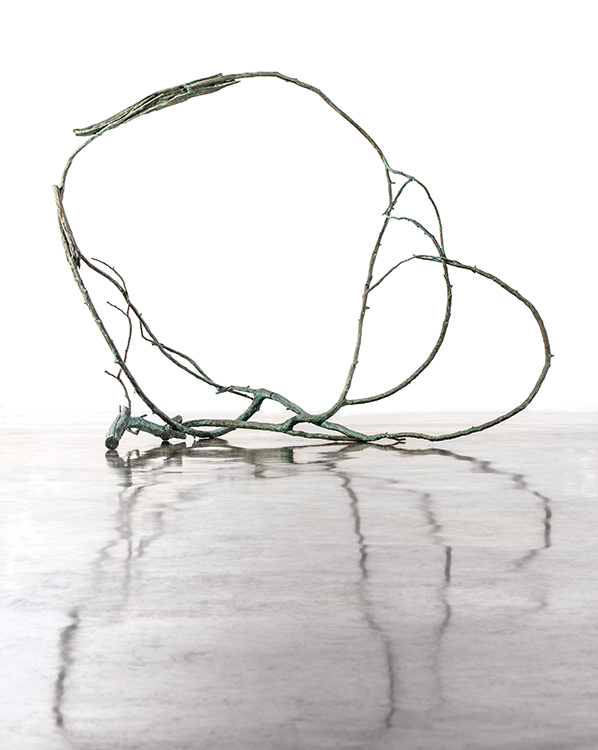 """Hold Free River, 2013. Cast bronze, 61 x 81 x 52"""". Courtesy of the artist"""