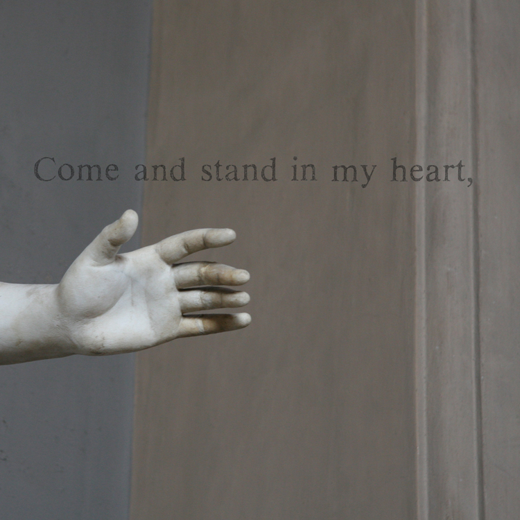 "Stand (Eudora Welty), 2006. From the Poets series. Archival ink jet print, 17 x 17"". Courtesy of  the artist"