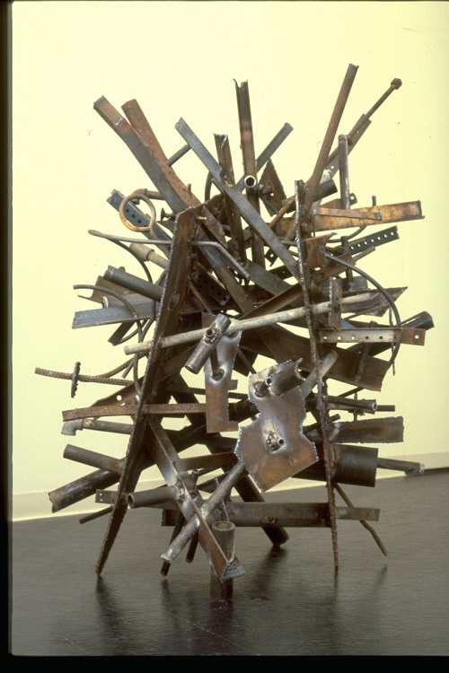 """Conductivity, 1980. Welded steel, 56 x 30 x 38"""". Courtesy of the artist"""