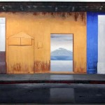 "Despues de la lluvia, 2004, oil on canvas, 48 x 72"". Courtesy of the artist."
