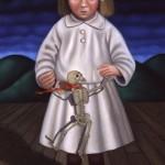 Captured, 2005, 25x15, oil on canvas