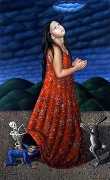 1.Unexpected, 2004, 68x36, oil on canvas