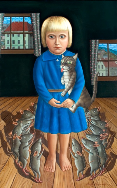 1.Outsider, 2006, oil on canvas