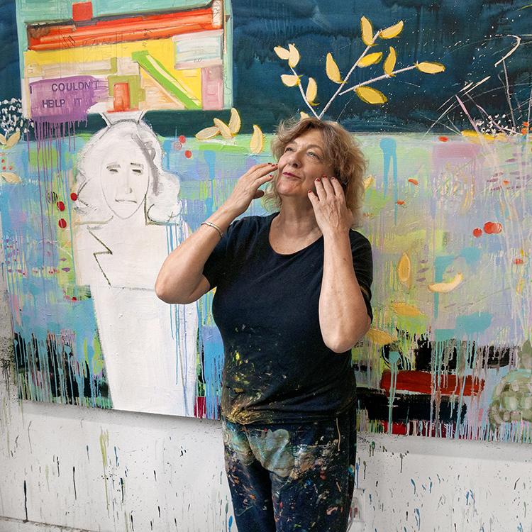 """Nancy Mitchnick, 2014, color archival pigment print, 19.5 x 19.5""""."""