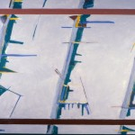Contrary Motions, 1978-79, oil on canvas, 60 in x 84 in