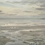 Bonneville Salt Flats, Tooele County, Utah, 2006, Archival pigment print, 44 x 52 in.