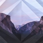 Mountains + Valleys (Yosemite #1), 2013, archival digital print, 40 x 26 in