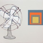 Fan, 2009, oil on canvas, 16 x 20 in