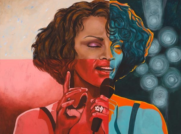 Whitney, 2017, oil on canvas, 36 x 48 in