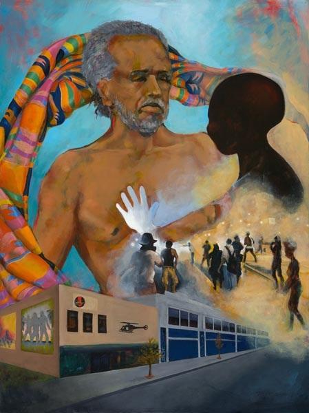 Legacy, 2015, oil on canvas, 40 x 50