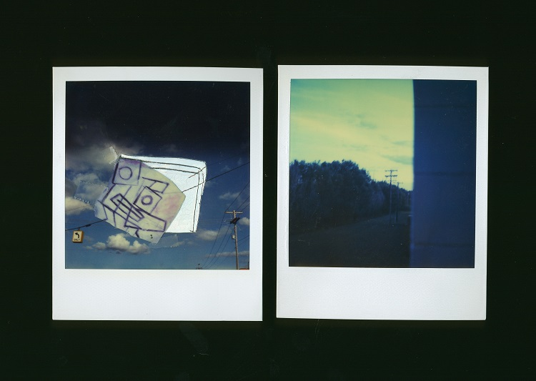 Untitled Polaroids, 1978-1979, Polaroid SX-70 print, 8 x 8 cm (each)